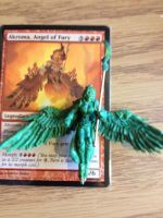 Akroma, Angel of Fury (WIP) by ConserveCausality
