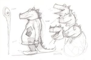 Alligator Concept 2 by Sakx