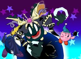 Magolor's Soul's Battle by THE--CoP