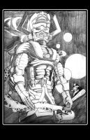 Galactus Pencils extended by thelearningcurv