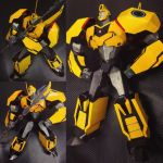 Transformers RID Bumblebee commission actionfigure by archus7
