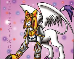 NEFERTIMON THE ANGEL of LIGHT by TheDocRoach