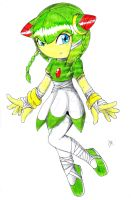 Cosmo the seedrian (sonic boom) by erosmilestailsprower