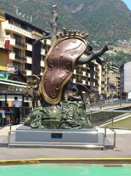 Dali in Andorra by Anne-Wolf