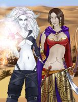 Girls of Eberron, I by Maelora69