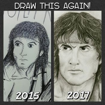 Draw This Again! (John Rambo) by Laily95