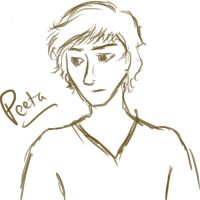 Peeta sketch by mocking-jay-birdy