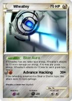 Pokecard- Wheatley 01 by ZaLDoS