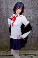 Ryuko Matoi first outfit by shelle-chii