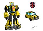 Transformers UK, 2 Bumblebee by taresh