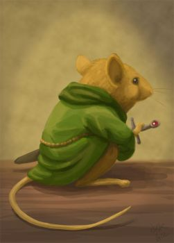 Matthias of Redwall by CantonKid