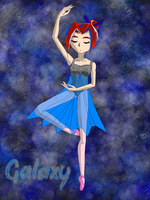 Galaxy: Pirouette by GalaxyPegasus14