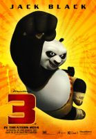 Teaser Poster Provisional KUNG FU PANDA 3 by jphomeentertainment