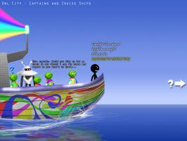 Owl City - Captains and Cruise Ships by GalaxyInvader