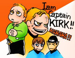I am Captain KIRK by Emushi