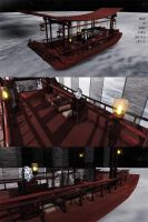 Chinese Style Boat by roosjuh14290