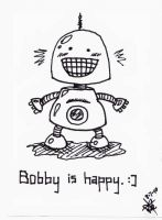 Bobby is happy. by kristollini