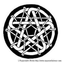 Knotwork Pentacle by rapunzell