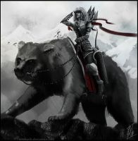Bear Cavalry by Artshardz