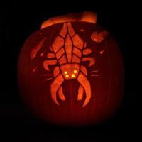 Harbinger's carving through pumpkins by quantumparadigm
