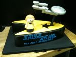 Star Trek Cake by Spudnuts