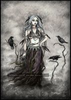 The Crow Witch by DarkLiminality