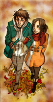 Autumn walk by raintalker