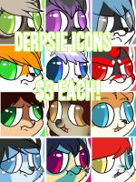 Open for Derpsie icons! by Lodidah