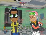 Mighty-Loud Call-Clyde-Ronnie B by TurtleMonk