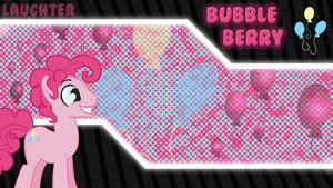 Bubble Berry wallpaper by Pinkie-N-Flutters
