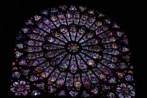 Vitral Notre Dame de Paris by Asrielh