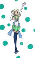 Pretty Senshi Sailor Eunomia by dedizenoflight
