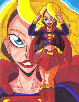 Top 13 Comic Book Women: #8 Supergirl by d13mon-studios