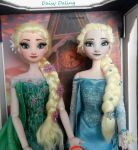 Disney's Queen Elsa / Ice Queen Elsa comparision by DaisyDaling