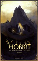 The Hobbit poster by Barbeanicolas