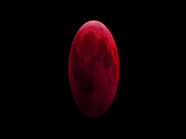 Blood Red Moon by myjavier007