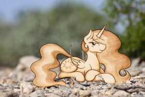 Princess of the Sun CrispyChris - Laser Cut by Earth-Pony