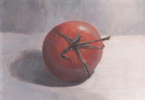 Tomatoes: Colored Study by DupleSnowflake