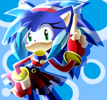 The Second fastest Hedgehog by Artheyna