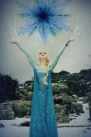 Let it go Elsa cosplay Frozen by MissWeirdCat