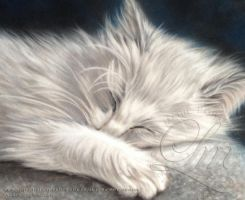 Sleep tight our angel by LouiseMarieFineArt