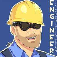 Engineer is Credit to Team by dust-bite