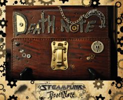 steamPunk DeathNote 2A by Vinster1701