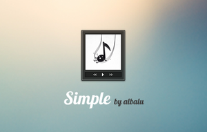 Simple... by albalu