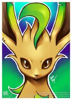 Leafeon by goldhedgehog