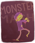 Monster Mash by CodiBear