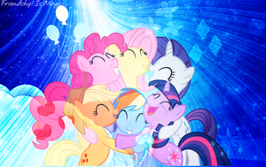 The Mane 6 by IconMakerAndMore