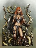 Red Sonja by tariq12