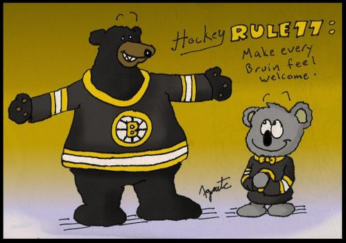 Bruins Hockey Rules No. 77 by AgentC-24
