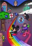 Mickey's Castle of Illusion by DoodlesDan